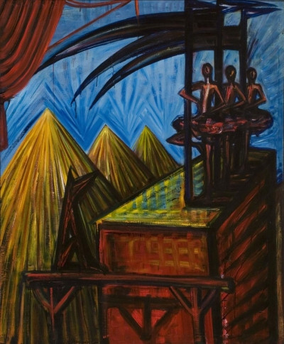 El Kazovszkij: Cím nélkül (Kaszás párkák), é.n.