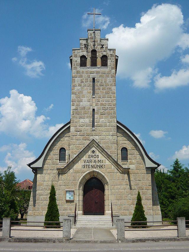 A rákoskereszttúri evangélikus templom. Ifj. Sándy Gyula, 1932