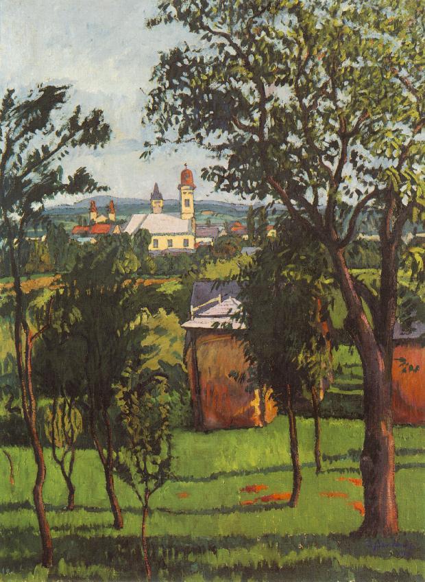 Ziffer Sándor: Tájkép, 1912