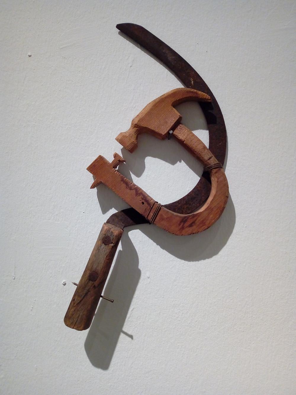 Böröcz András: Sarló és kalapács, 1990