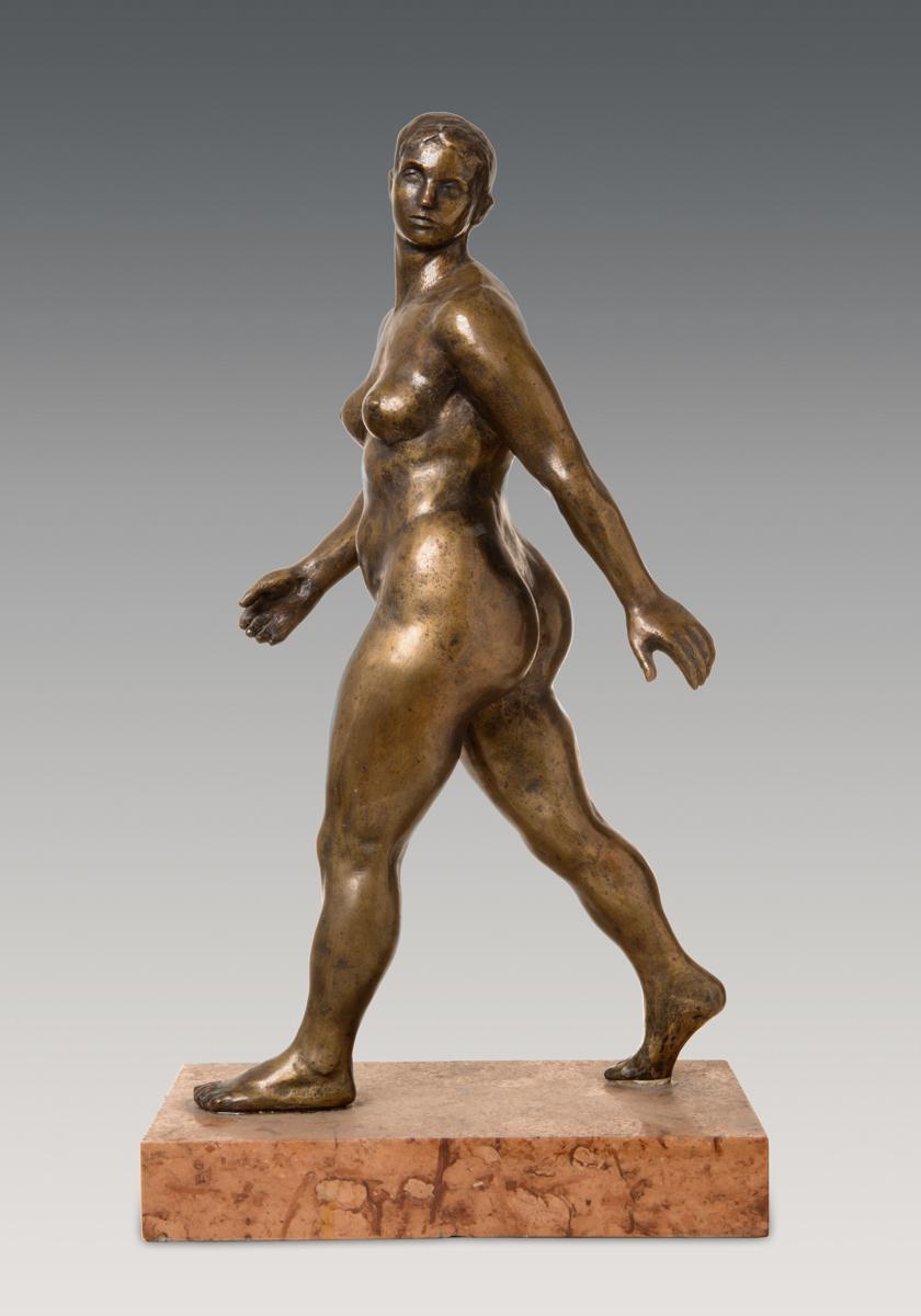 Ferenczy Béni: Lépő nő, 1939. Fotó: MNG