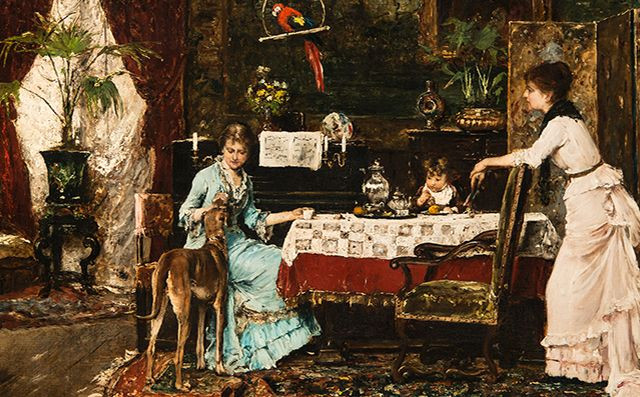 Munkácsy Mihály: Az agár, 1882