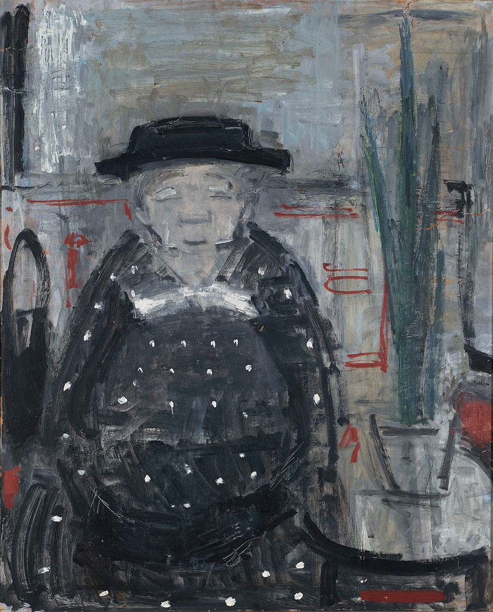 Gábor Marianne: Olga néni pettyes ruhában, 1962
