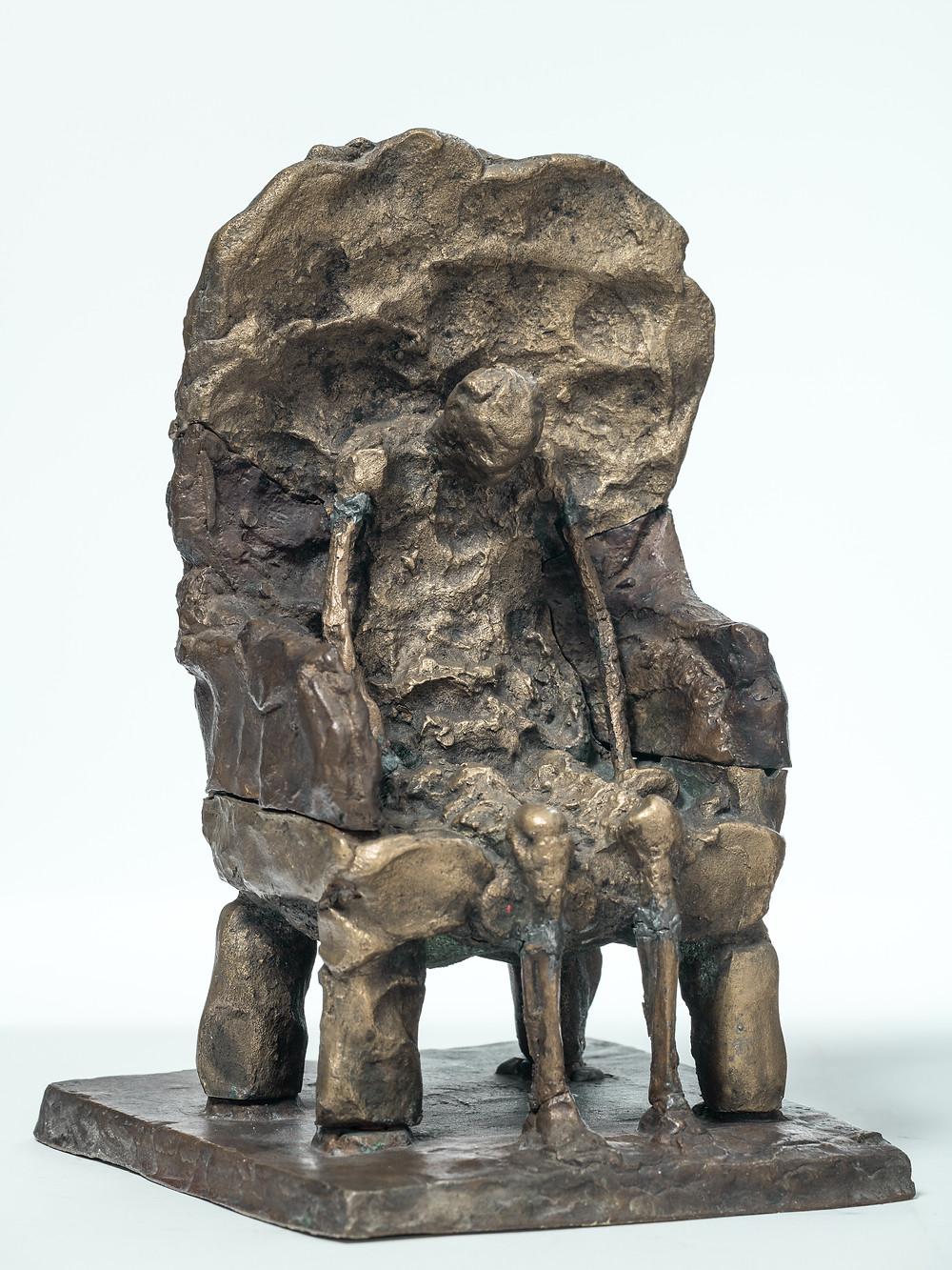 Schaár Erzsébet: Fotelben ülő (A művész édesapja), 1963