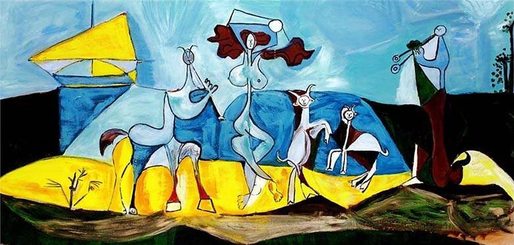 Pablo Picasso: Életöröm, 1945. Picasso Museum, Antibes