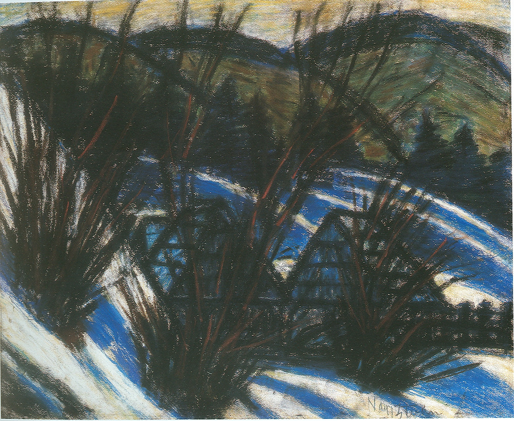 Nagy István: Dombok kék árnyékokkal, 1920-as évek második fele