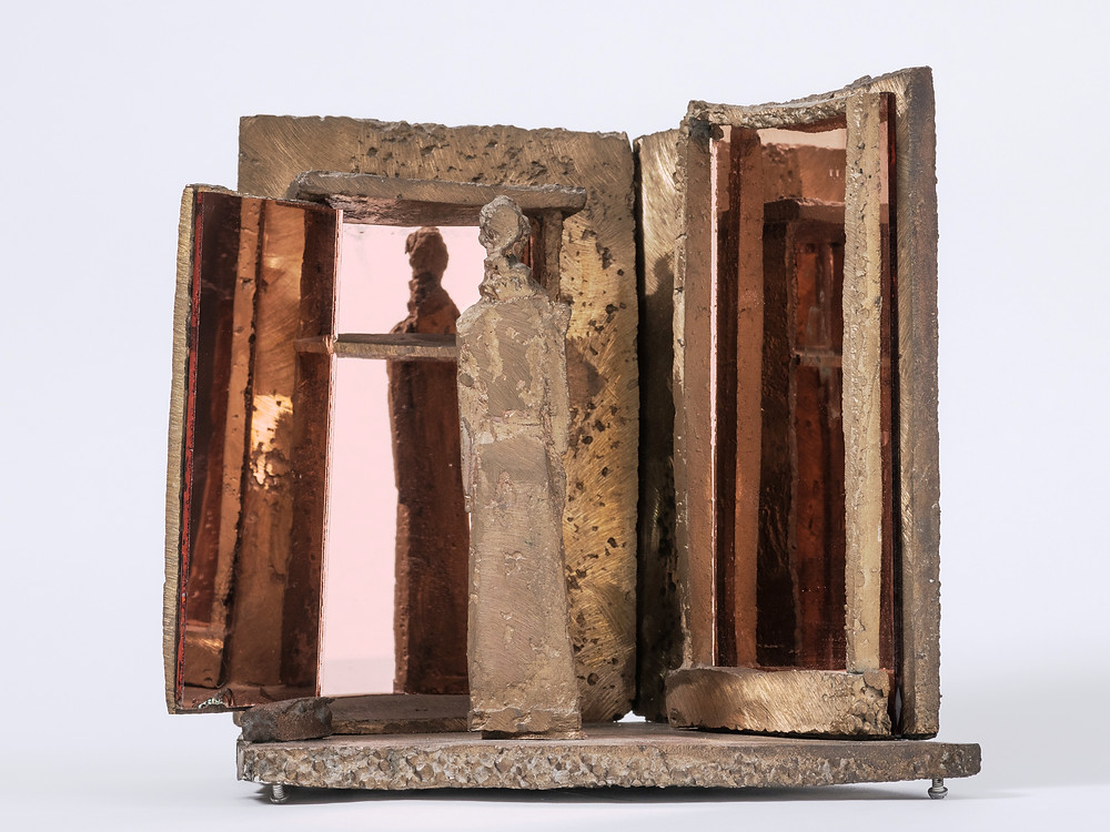 Schaár Erzsébet: Két tükör között, 1972