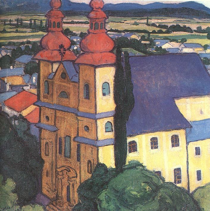 Ziffer Sándor: Lelátás az István toronyból, 1909