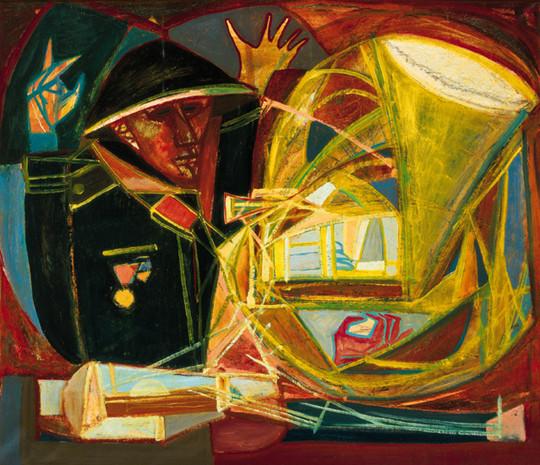 Kondor Béla: Hangzavar, 1960. Fotó: Virág Judit Galéria