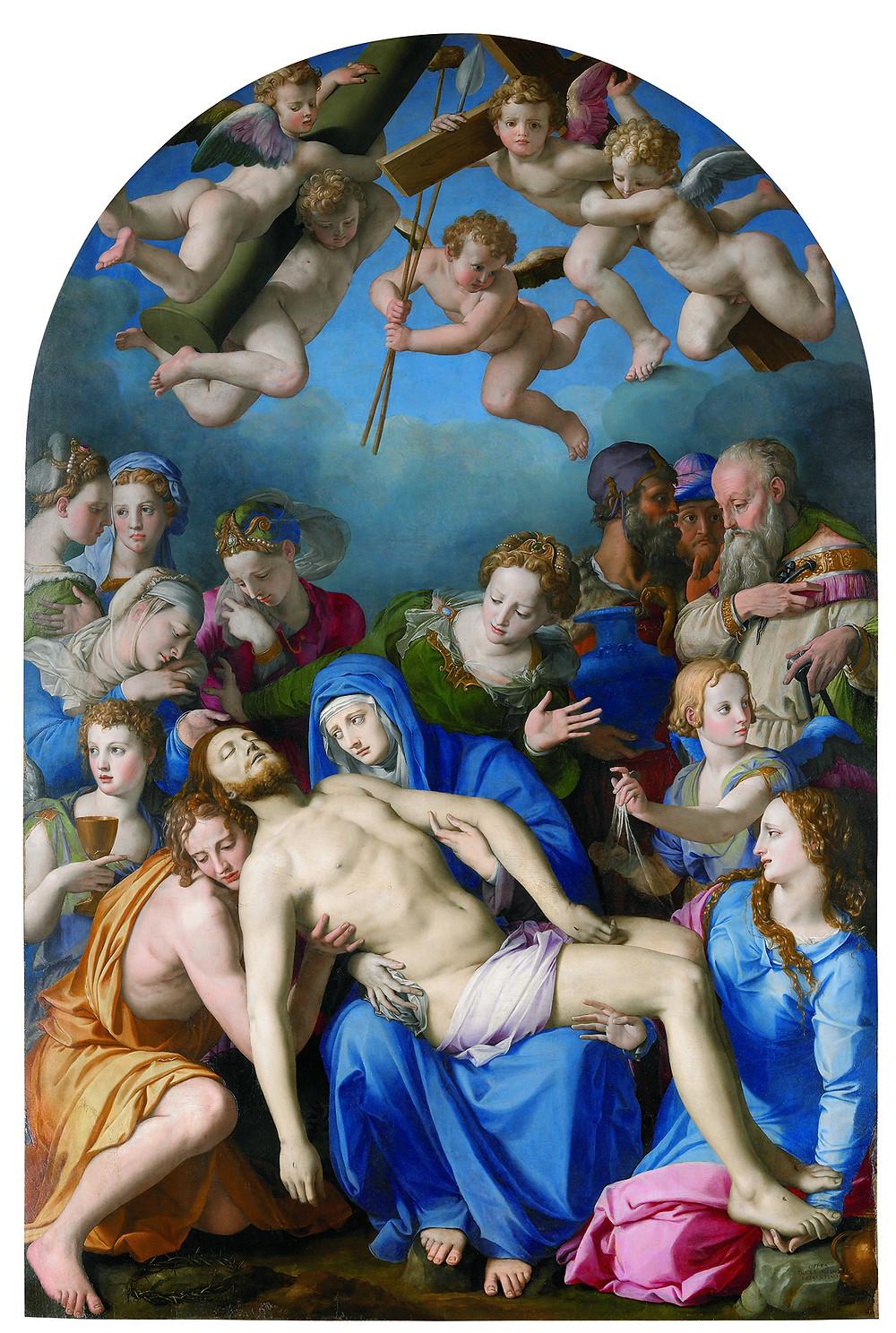 Bronzino: Levétel a kereesztről, 1543-45