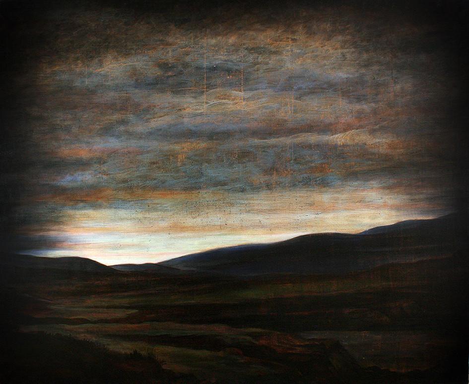Szurcsik József: Szubsztancia, 2012, 165 x 200 cm