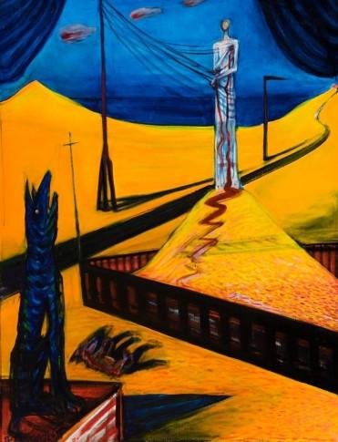 El Kazovszkij: Sivatagi homokozó III., 1988