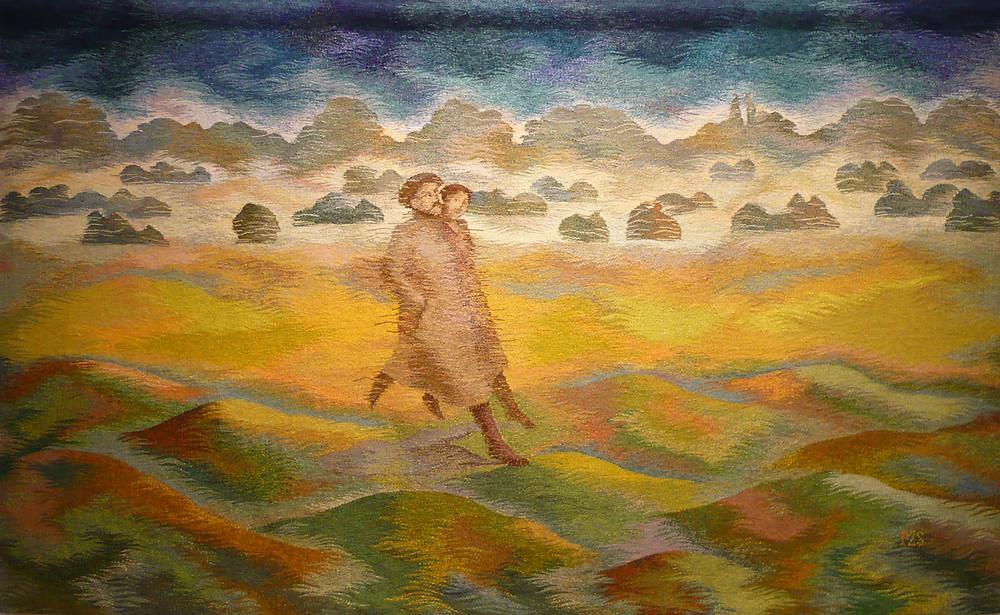 Péreli Zsuzsa: Korcsolyázás Szent Iván éjjelén, 2003