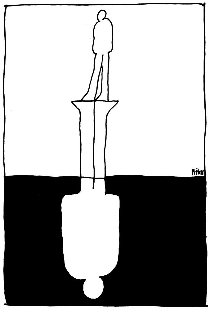 Rajz a Réber László műveiből készített filmből