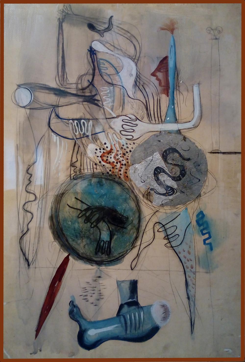 Hincz Gyula: Római vázlat, 1928