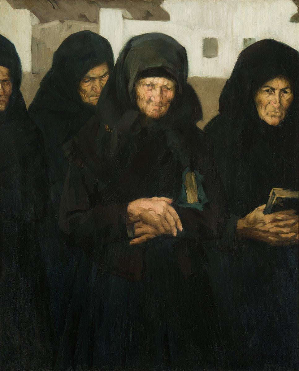 Vaszary János: Ünneplők, 1902
