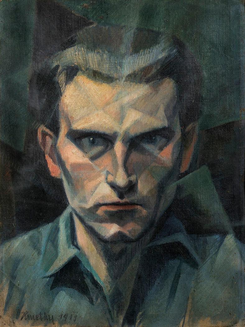 Kmetty János: Önarckép, 1911
