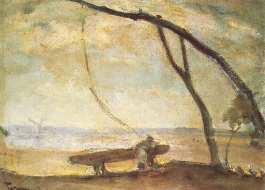 Tornyai János: Gémeskút (Délibáb), 1910-es évek