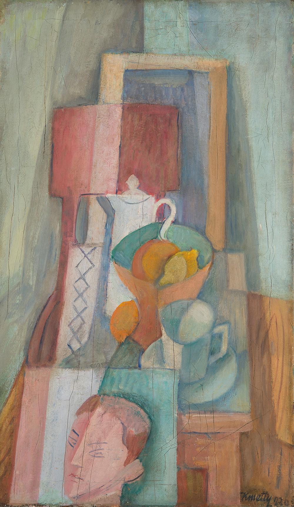 Kmetty János: Csendélet, 1930