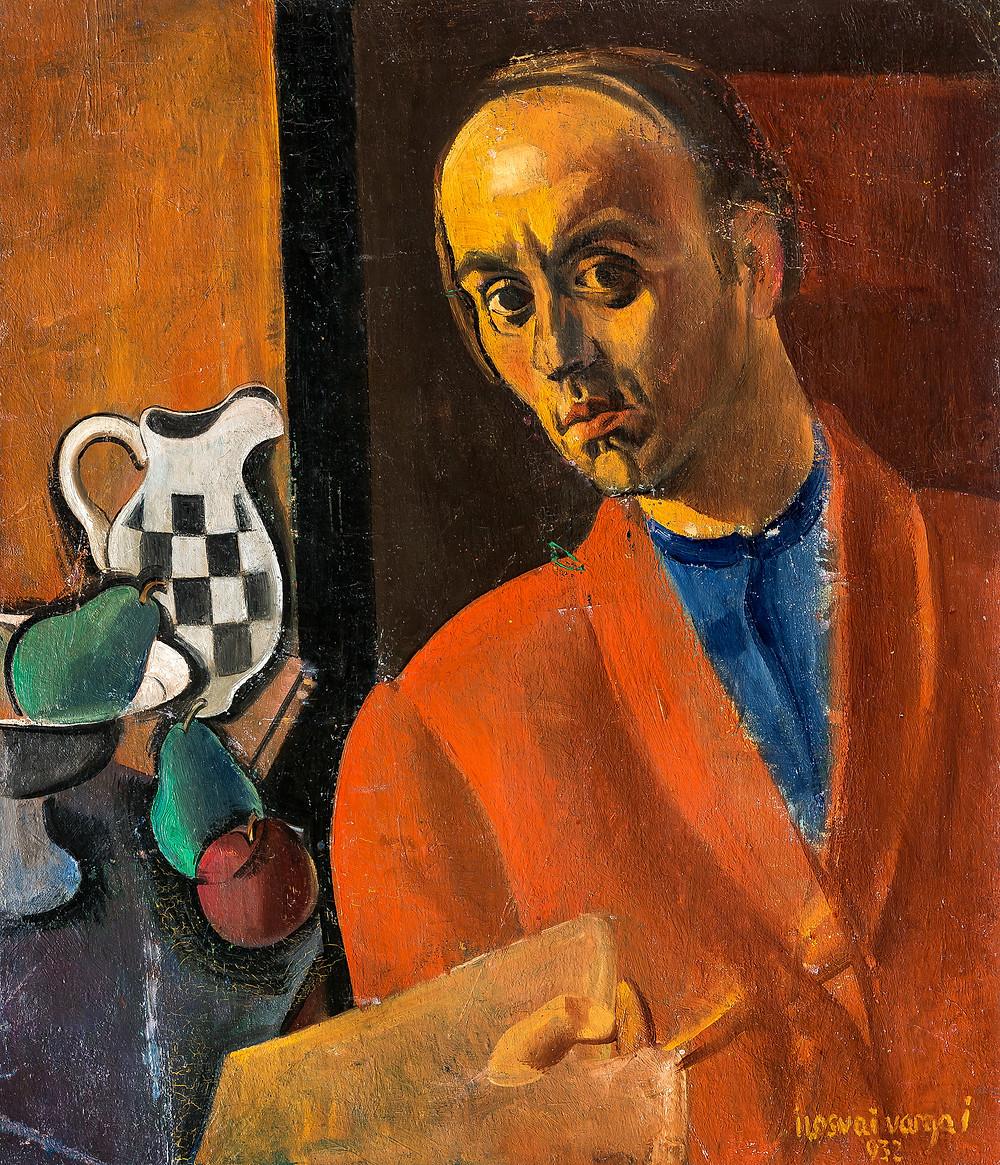 Ilosvai Varga István: Első önarcképem, 1932