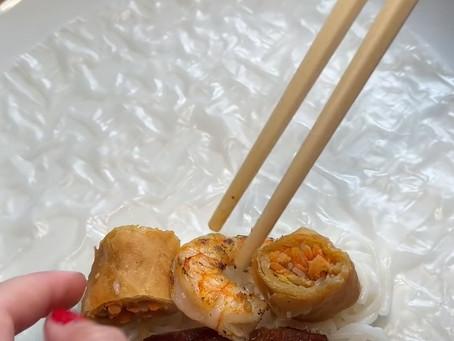 Fried hot cheetos spring roll FAIL