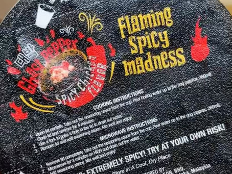 Re-attempting the Ghost Pepper Noodle Challenge