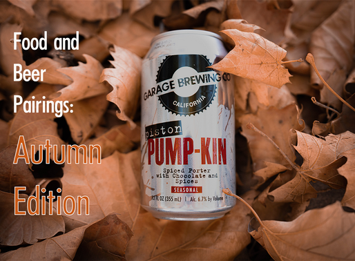 Beer and Food Pairings: Autumn Edition