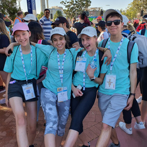 Day 3: The pilgrimage walk to the Final Mass
