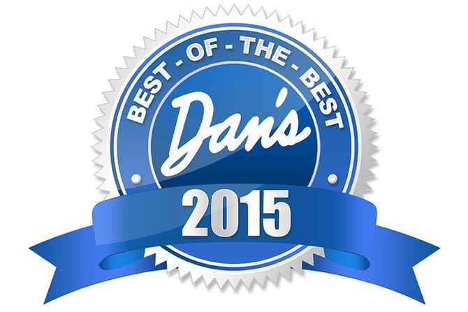 Scott Hewett wins Dan's Papers Best of the Best / Artist 2015