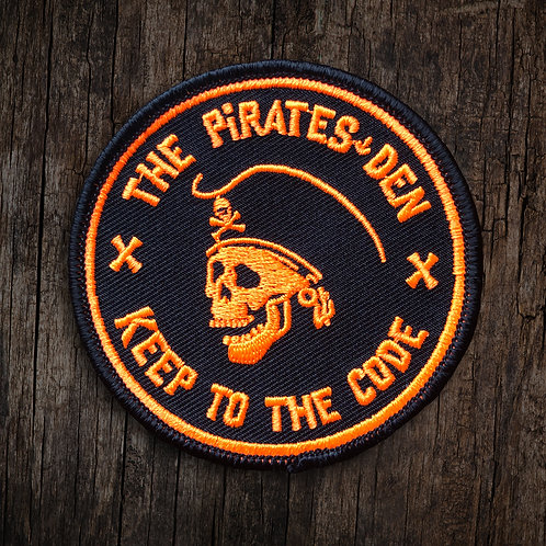 "The Pirates Den / 3"" Orange Patch"