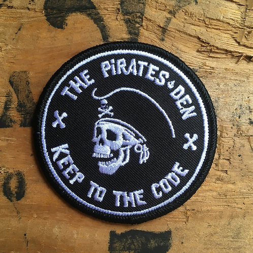"The Pirates Den / 3"" Embroidered Patch"