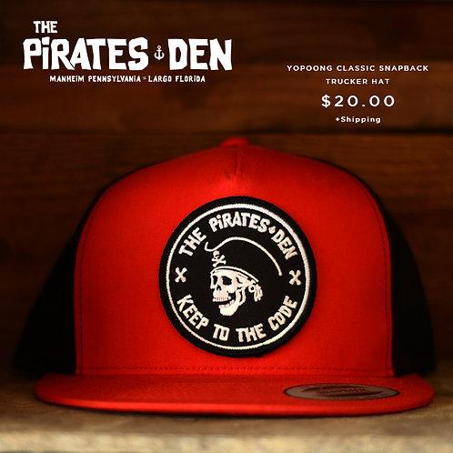 The Pirates Den / Trucker Hat