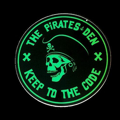 """The Pirates Den / 3"""" Sticker"""