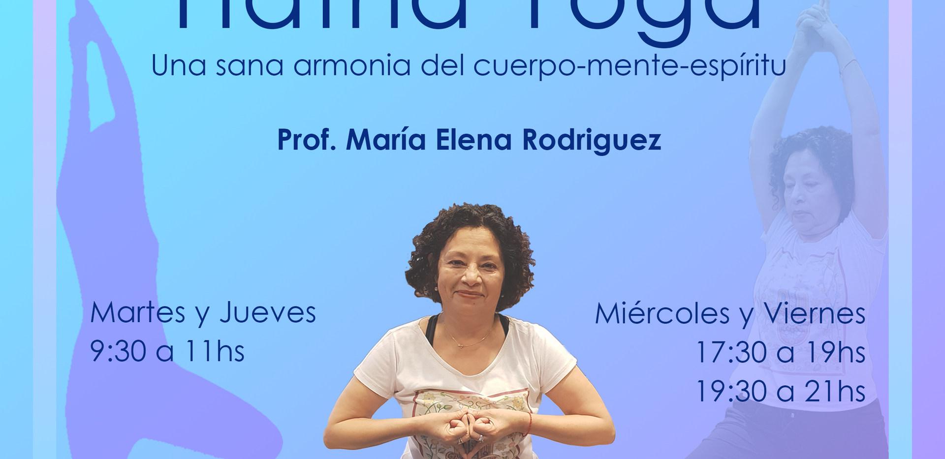 La práctica de yoga apunta hacia una mejora en la salud psicofísica a través de técnicas de: estiramientos dinámicos y estáticos, fortalecimiento, coordinación y equilibrio, ritmos respiratorios, focalización de la consciencia y meditación; nos lleva a tener una actitud positiva frente a la vida, estabilidad emocional con el fin de alcanzar la paz mental, la alegría interior y el reencuentro con el Ser.  Yoga es experiencial.