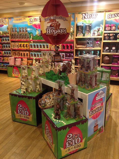 Thorntons Easter / Seasonal Retail Campaign