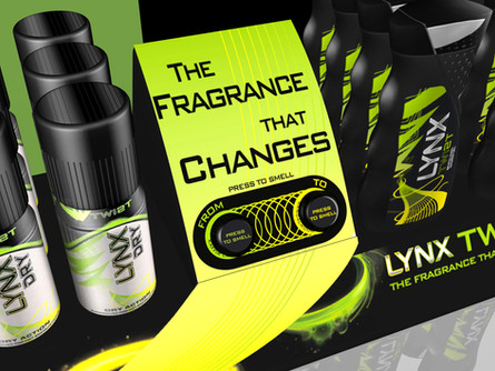 Unilever Lynx Twist launch campaign • Creative Artwork