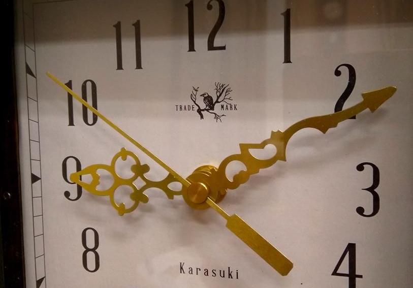 The diamond window clock