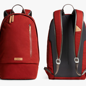 Campus Backpack Red Earth