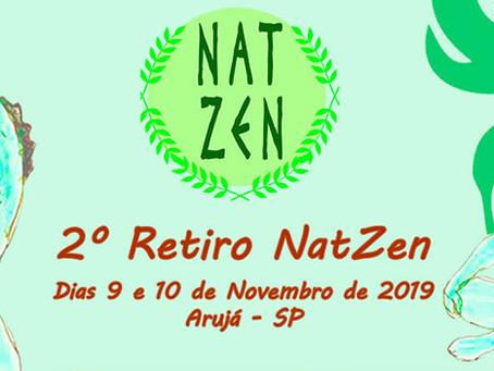 2º RETIRO NATZEN 2019 - AS VAGAS ESTÃO ACABANDO!!!