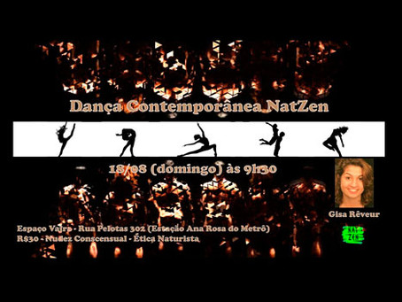 Dança Contemporânea - 18/08/2019