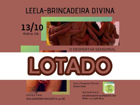 Leela - Brincadeira Divina em 13/10/2019