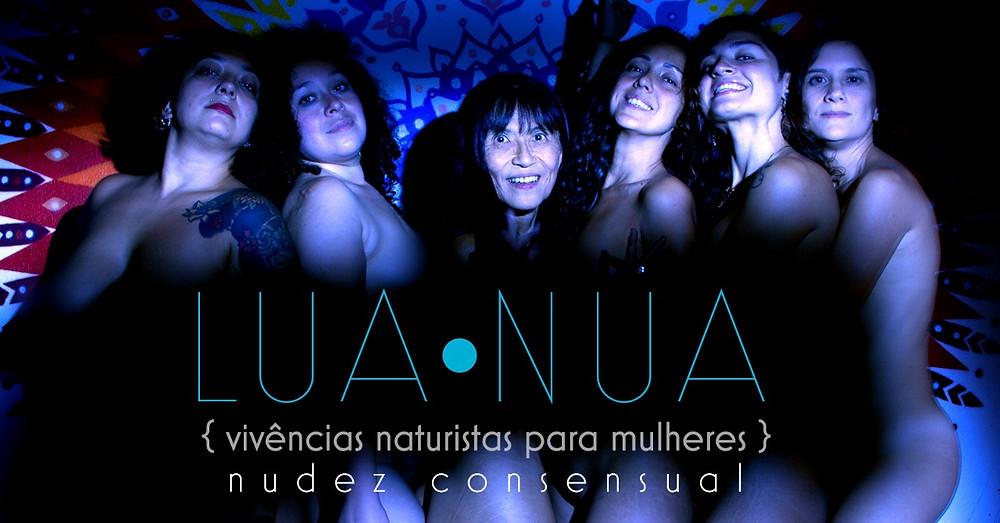 foto contendo a imagem das 6 guardiãs e facilitadoras do NatZen que tornarão possível todas as vivências naturistas oferecidas voltadas exclusivamente para mulheres