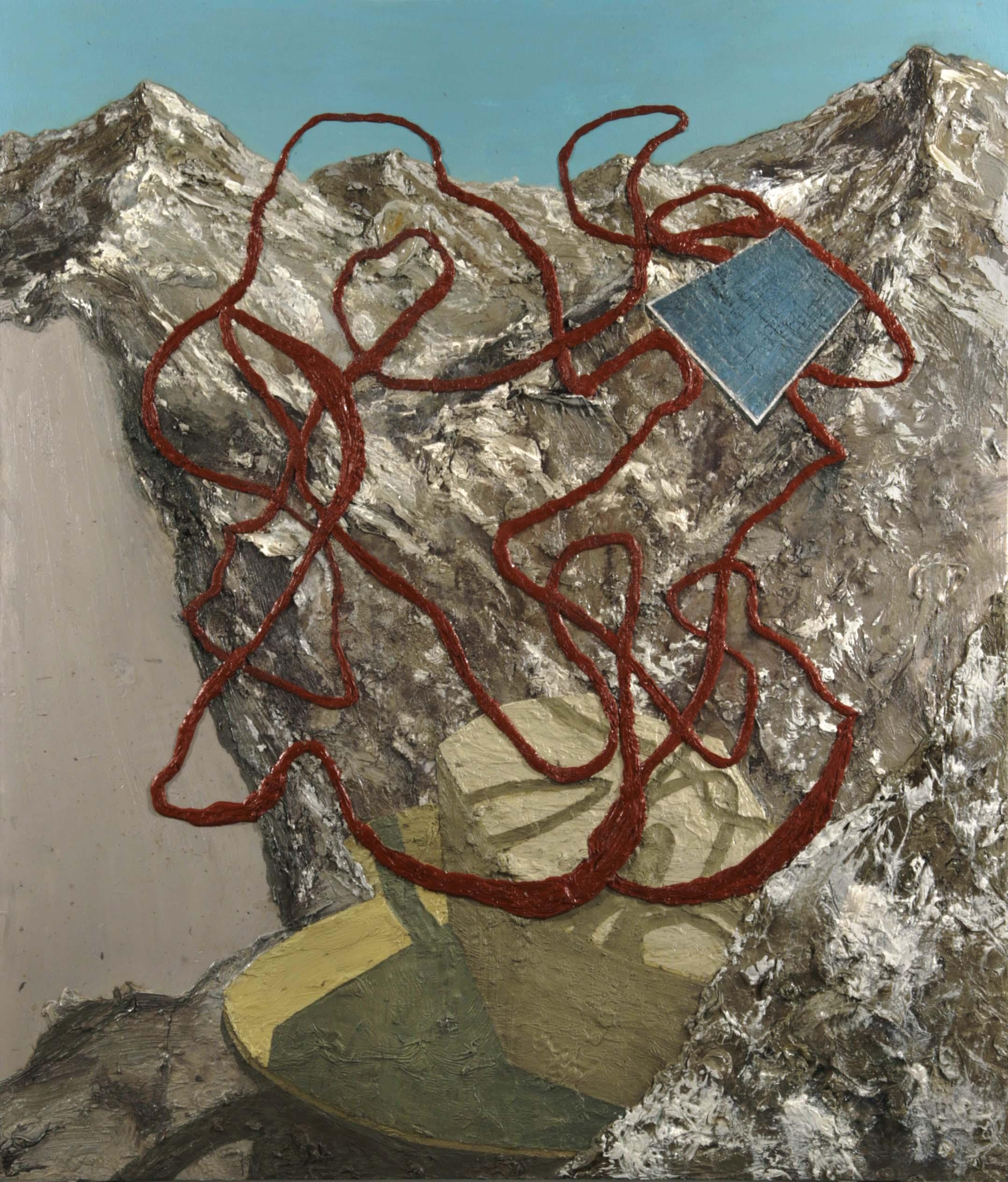 Solar Powered Sculpture on Mountain