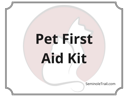 Video: Pet First Aid Kit