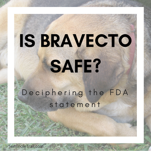 Is Bravecto safe for my dog and cat? Deciphering the FDA statement on Bravecto, Nexgard, Credelio, and Simparica.