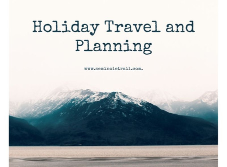Holiday Travel and Planning