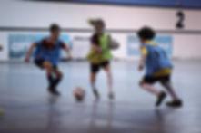 Soccer training at City Futsal