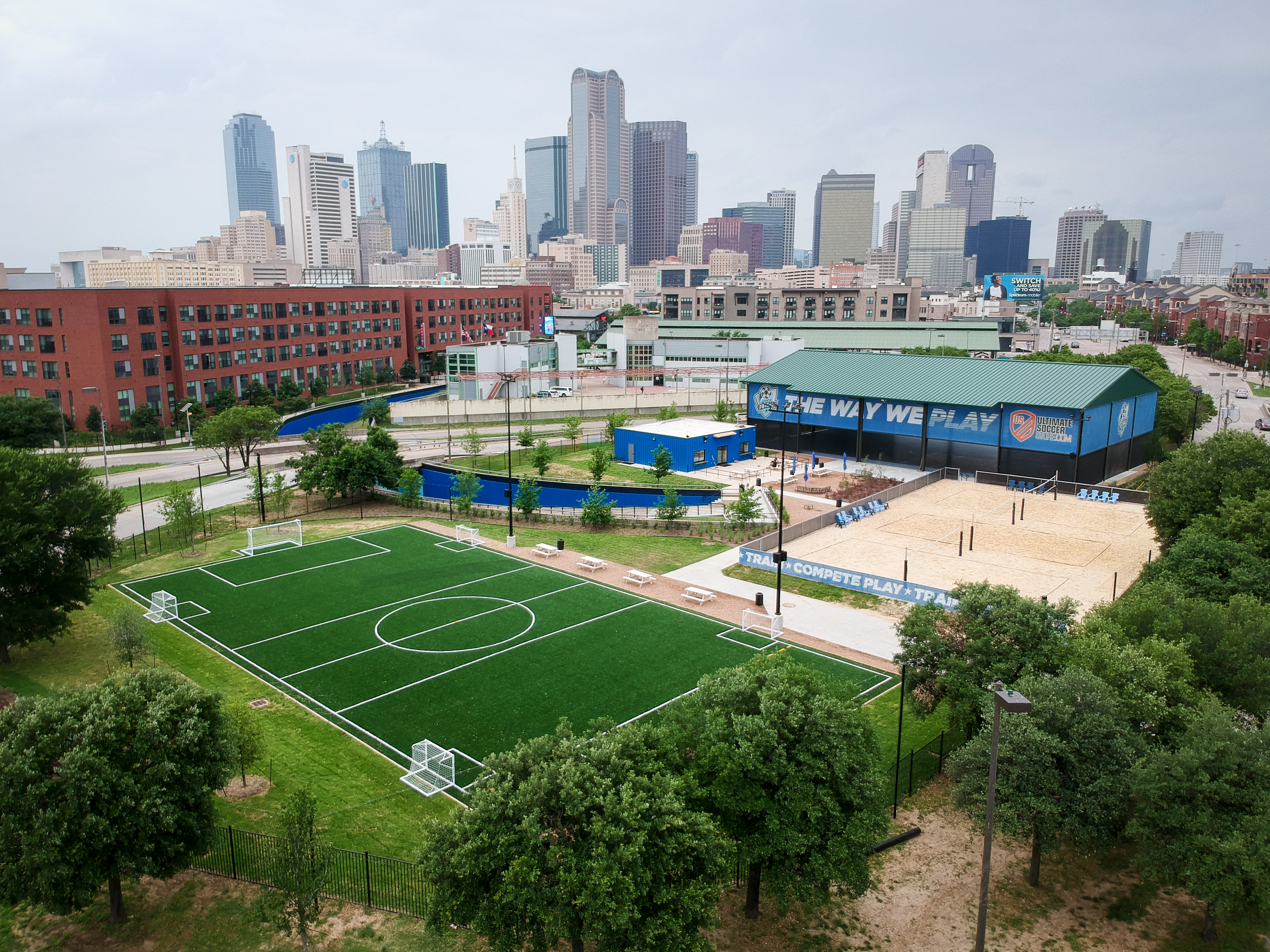 Court & Turf Rentals Available @Dallas Location DJI_0017
