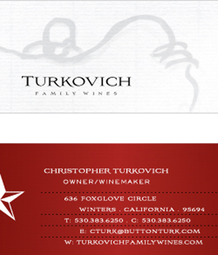 Turkovich Logo/Business Card