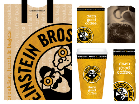 Einstein Bros In Store Packaging